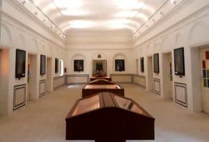 The Government Museum of Jhalawar city in Rajasthan