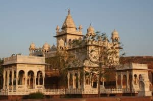 Side View of Jaswant Thada in Jodhpur city