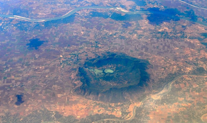 Ramgarh Crater At Mangrol City in Baran