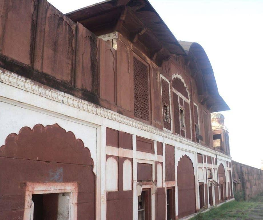 Khanpur Mahal near Bari City in Dholpur