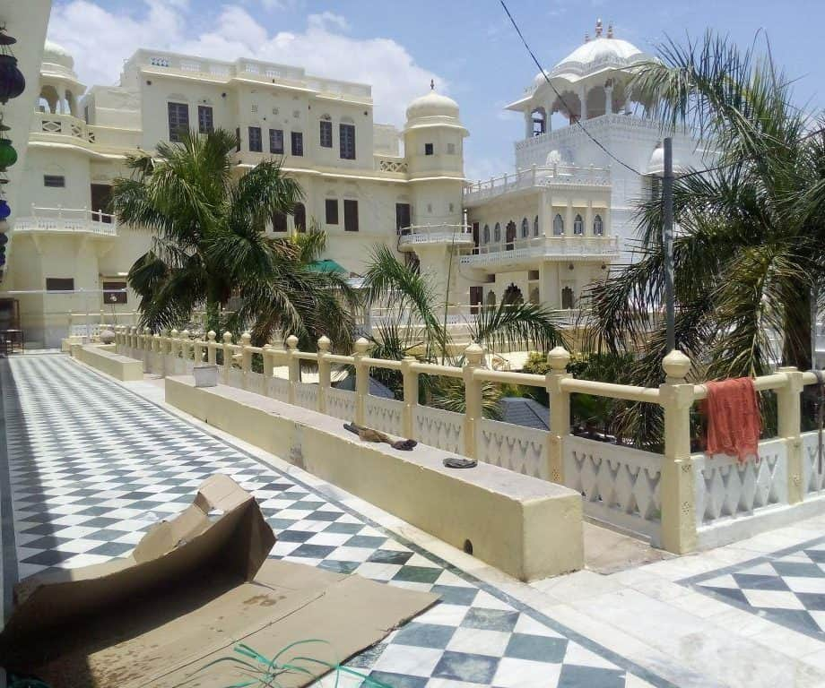 Inside View of City Palace at Bilara City in Jodhpur
